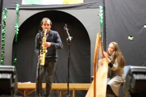 Hoela et Kevin au festival Féile Patrick Byrne 2013