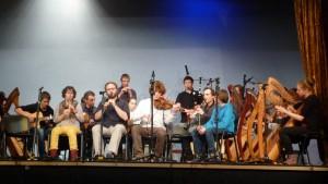 Concert du groupe de musiciens carhaisiens