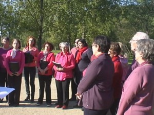 Chantons pour Dawn Chorus à Carhaixix
