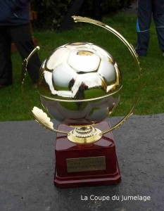 Trophée du tournoi de football Carhaix-Carrickmacross