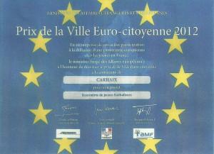 diplome de la ville-eurocitoyenne
