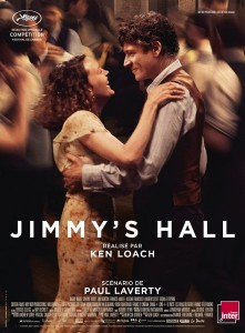 Affiche du film Jimmy's Hall de Ken Loach